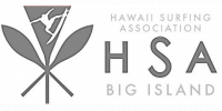Hawaiian Surfing Association - Big Island logo